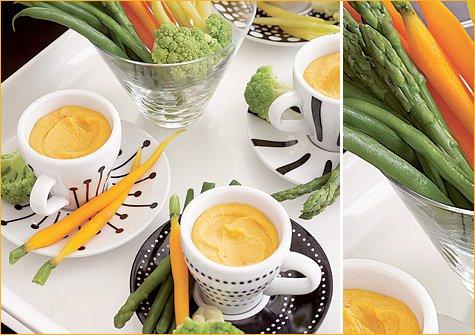 creative appetizer presentation