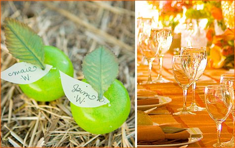 fall wedding and party inspiration