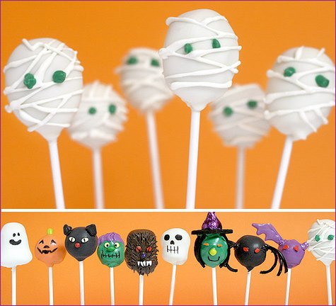 Halloween Cake Pop Decorating Ideas Halloween Cake Pops From