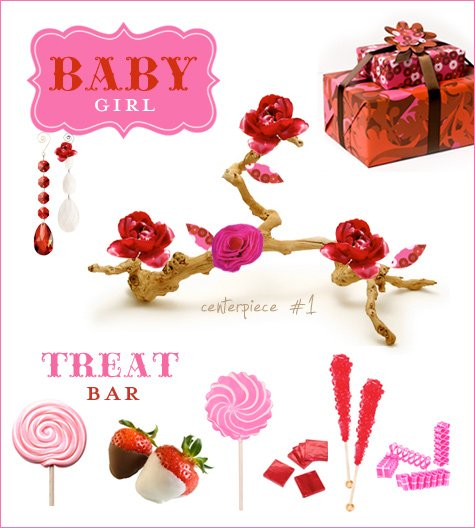 berry sweet girl baby shower