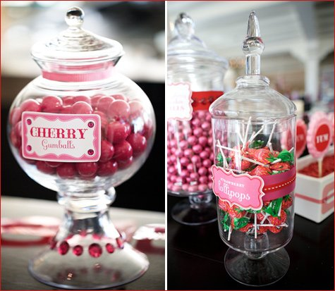 berry sweet baby shower theme girl
