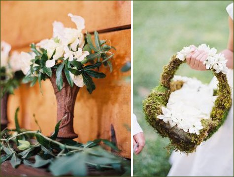 rustic fall winter wedding