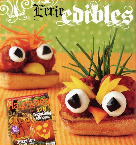 creative halloween recipes