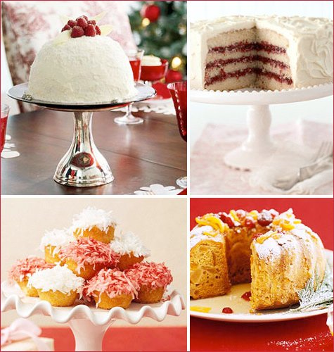 holiday cupcake and cake recipes
