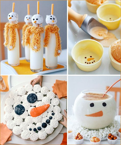 snowmen treats