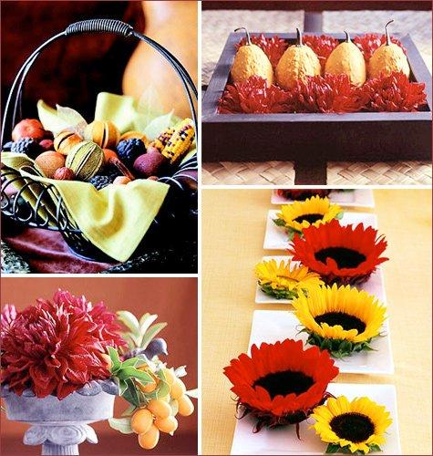 modern thanksgiving centerpieces