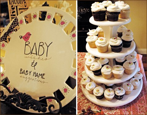 bird themed baby shower ideas