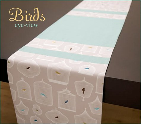 bird themed entertaining accessories