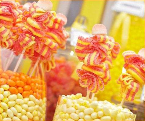 birthday party candy kabobs