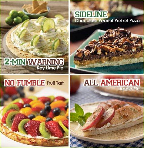 boboli pizza super bowl recipes