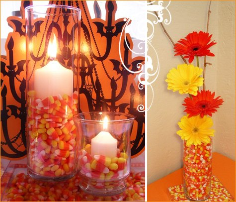 candy corn decorations for halloween