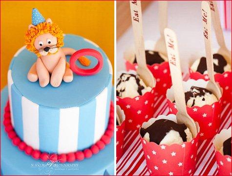 Carnival Birthday Party Dessert Table Ideas