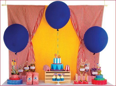 Carnival Birthday Party Dessert Table Ideas
