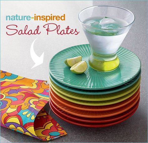 affordable colorful dinnerware
