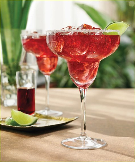 Drink Of The Week: Raspberry Margarita // Hostess With The