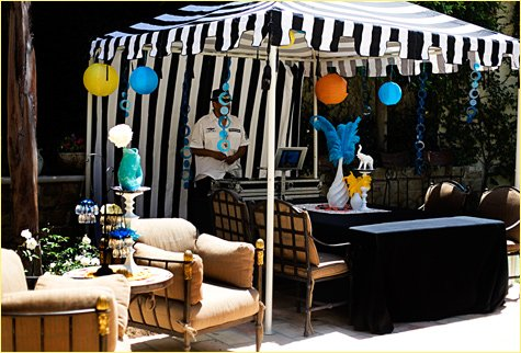 French Circus Baby Shower - Tisha Campbell