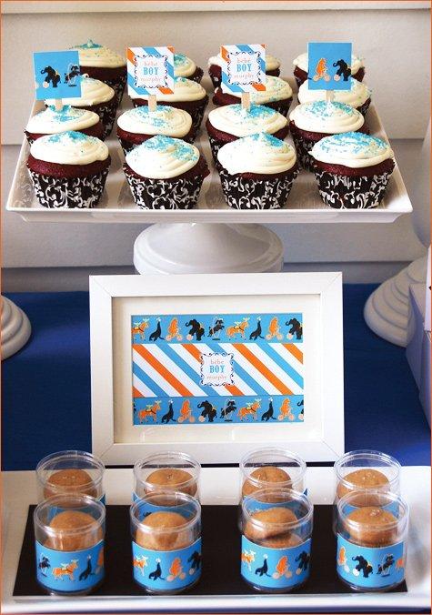Circus Party Dessert Buffet