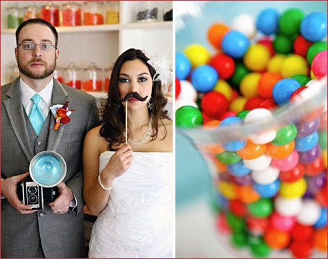 candy shop wedding bridal shower ideas