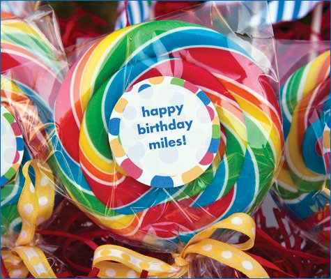 colorful first birthday party ideas
