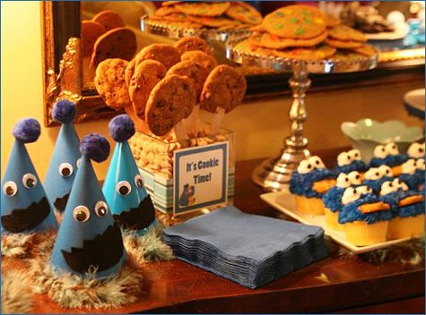 Cookie Monster party ideas
