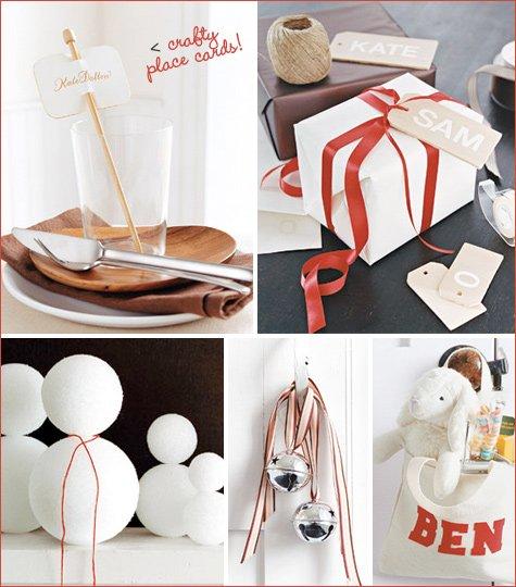 crafty Christmas decoration ideas