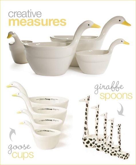 gift idea: creative kitchen tools