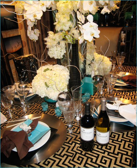 modern dinner party ideas