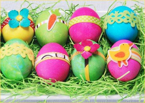 modern Easter eggs