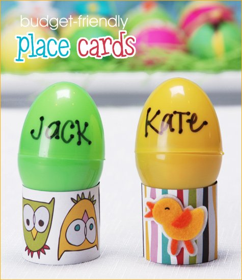 Easter kids table ideas
