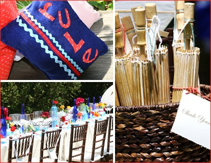 creative eclectic baby shower