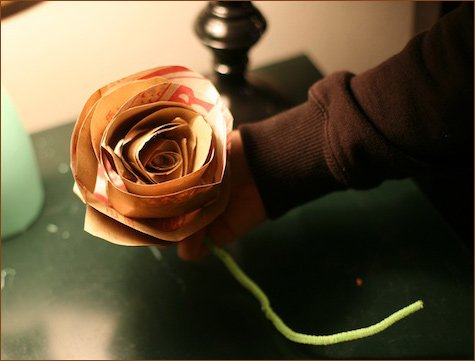 eco-chic bouquet alternative