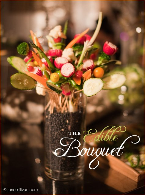 edible vegetable bouquet