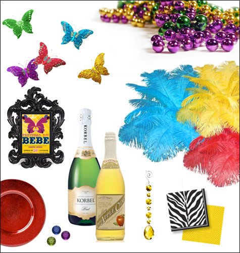 masquerade theme party ideas