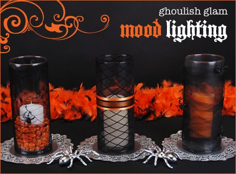 ghoulish glam halloween decorations