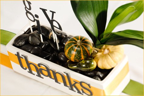 Thanksgiving table centerpiece idea