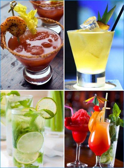 cocktail garnish ideas