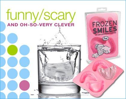 frozen smile halloween ice