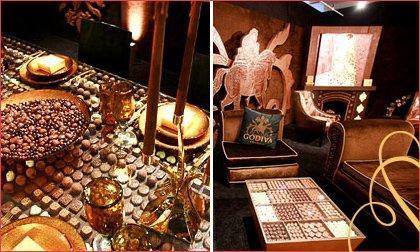 godiva chocolate room
