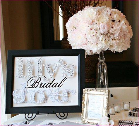 Gossip Girl bridal shower ideas