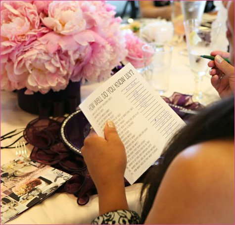 gossip girl bridal shower party ideas