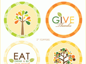 Thanksgiving Fall Party Printables - Operation Give Thanks