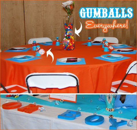 gumball theme baby shower ideas
