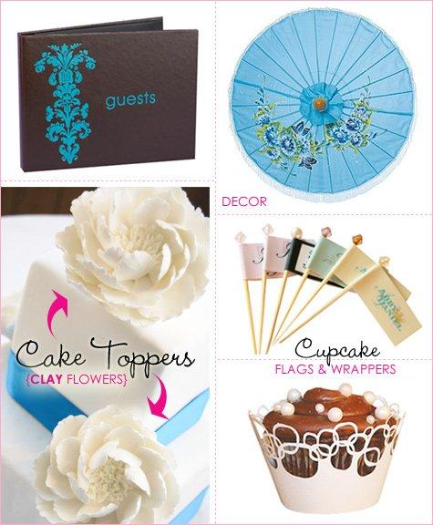 Estilo Weddings: wedding favors and gifts