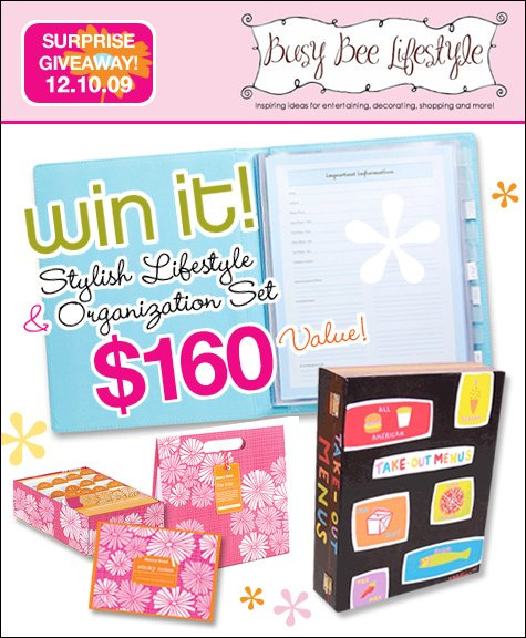 Busy Bee Lifestyle Giveaway