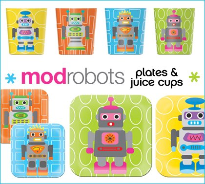 loft party - french bull robots set