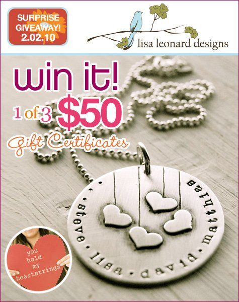 Lisa Leonard Designs Custom Jewelry