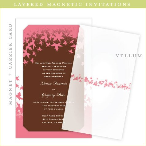 magnetic wedding invitations