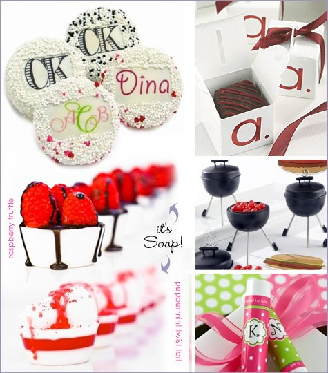 Moments of Elegance - party favors