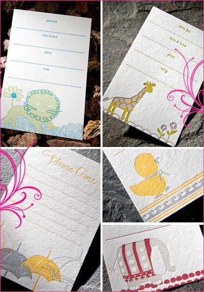 smock paper letterpress stationery