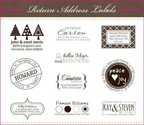 personalized stamps and labels
